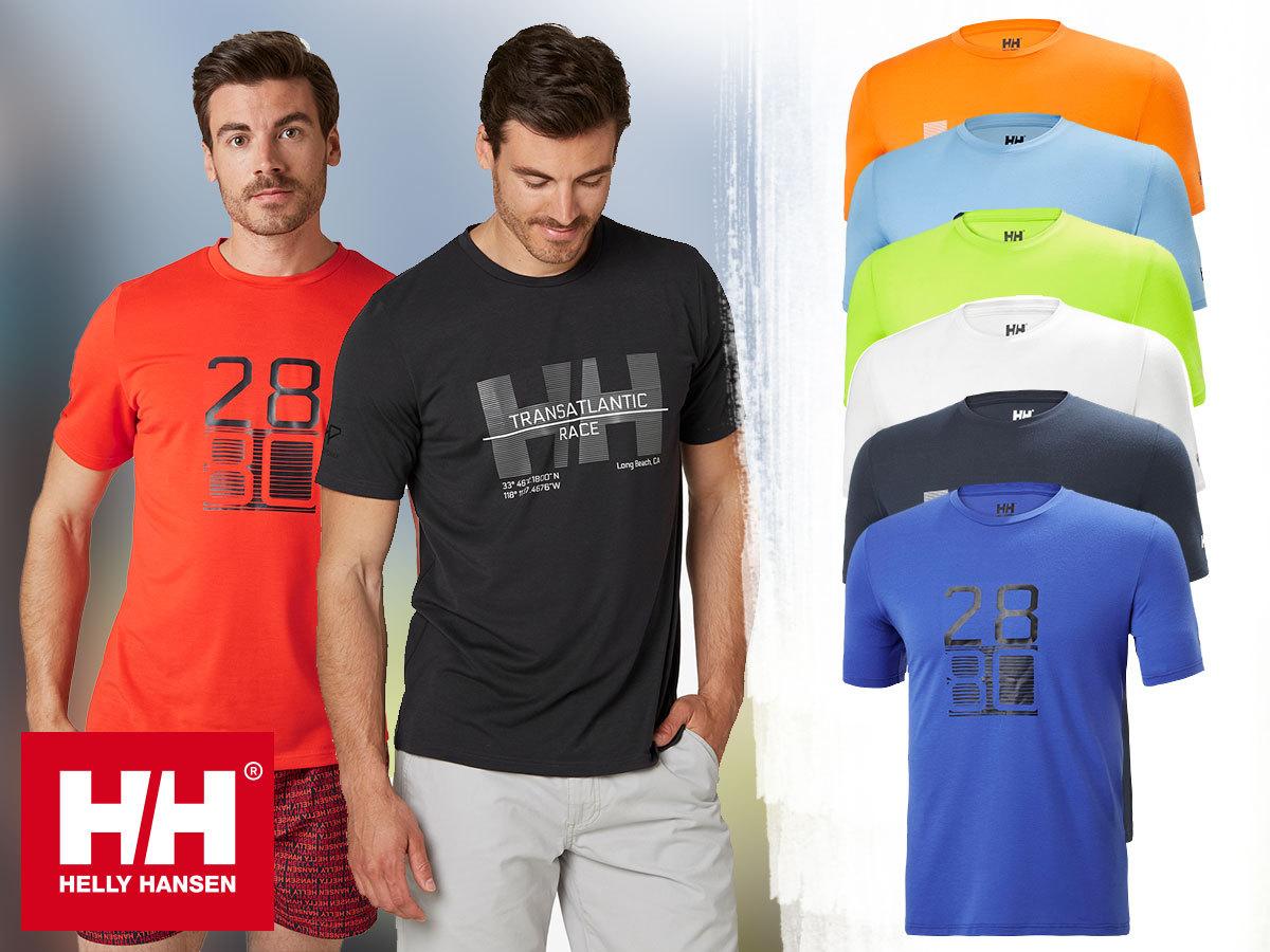 Helly Hansen HP RACING T-SHIRT férfi technikai póló, gyorsan száradó, rugalmas anyagból (S-XXL)