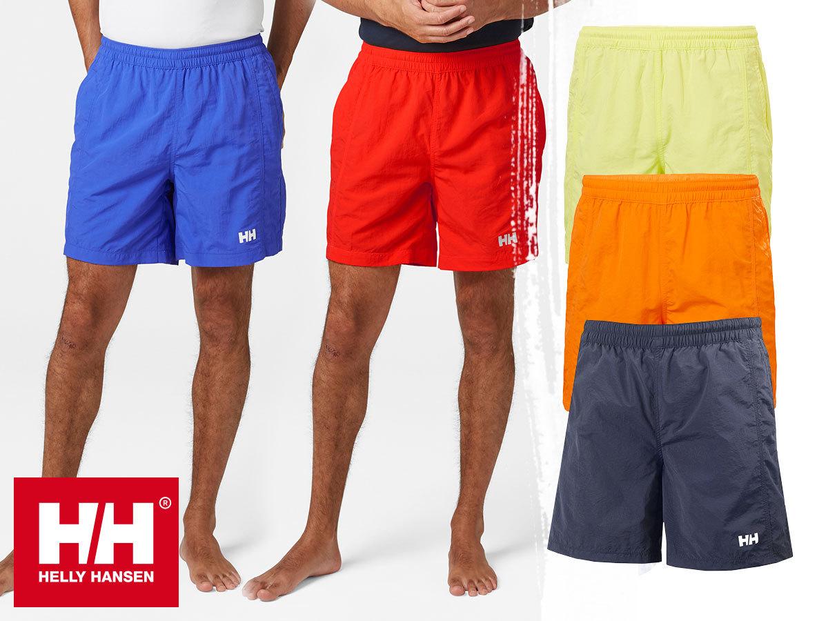 Helly Hansen CARLSHOT SWIM TRUNK sokoldalú rövidnadrág / úszónadrág, gyorsan száradó anyagból, a termékek egy része azonnal átvehető