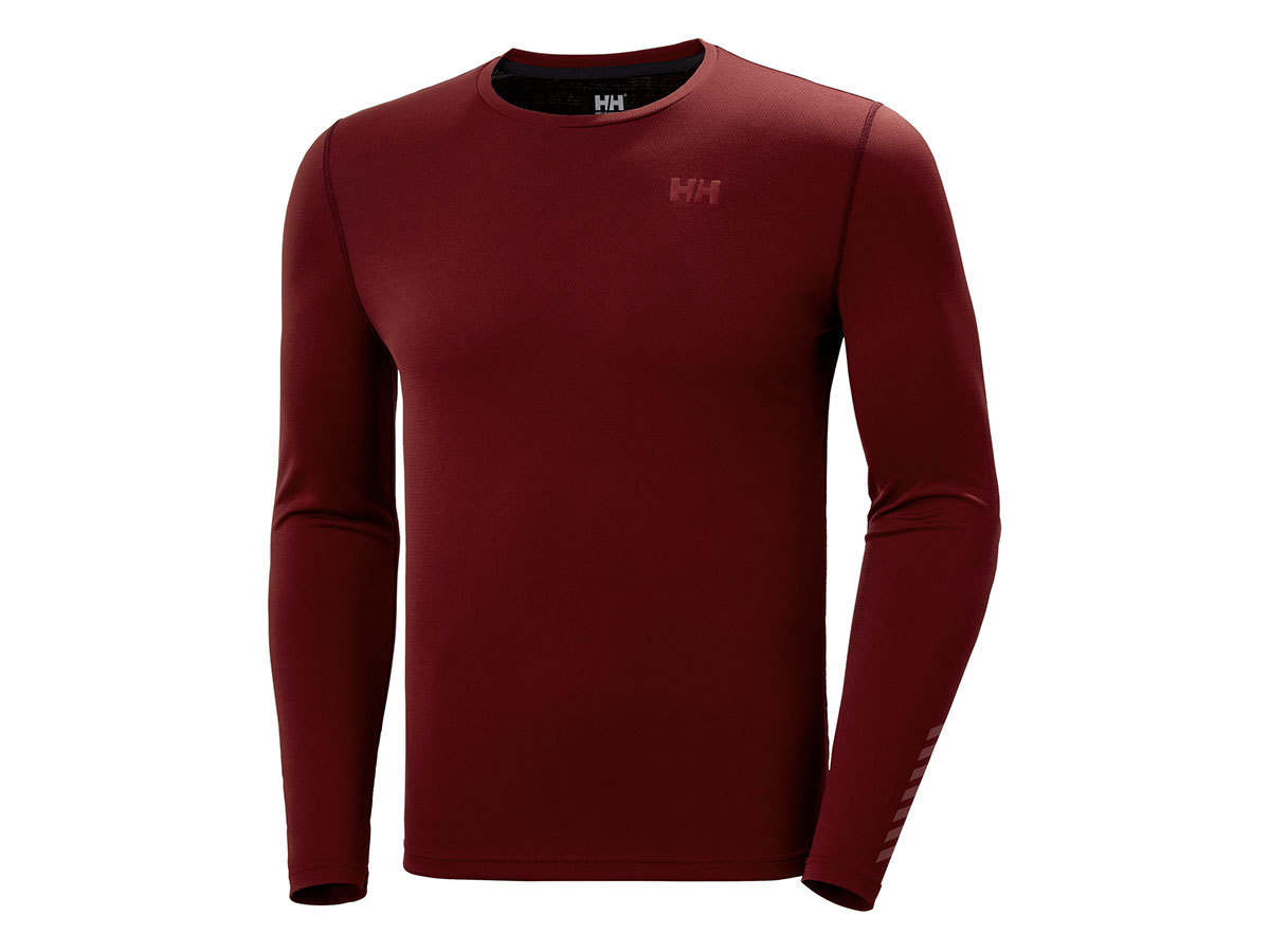 Helly Hansen HH LIFA ACTIVE SOLEN LS - OXBLOOD - XL (49348_215-XL )