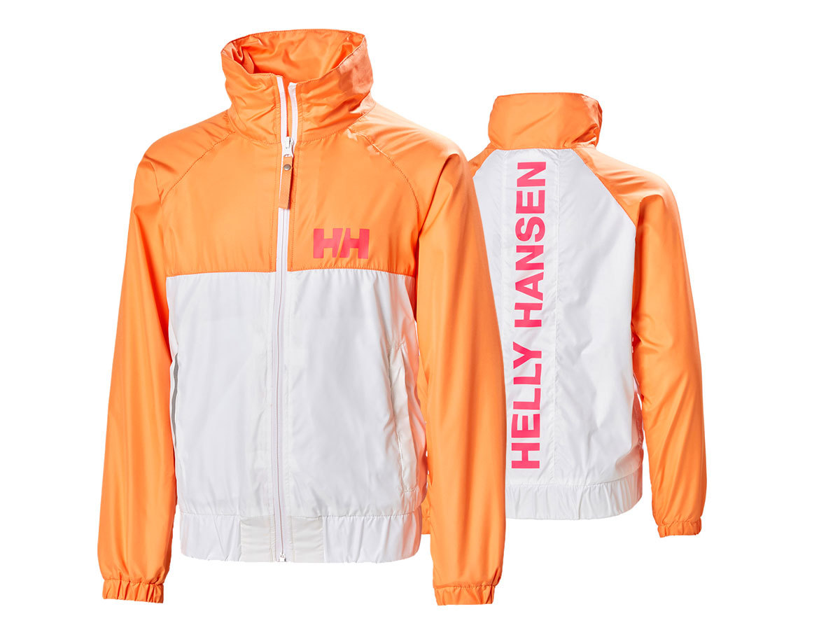 Helly Hansen JR ACTIVE WIND JACKET - WHITE - 128/8 (41698_001-8 )