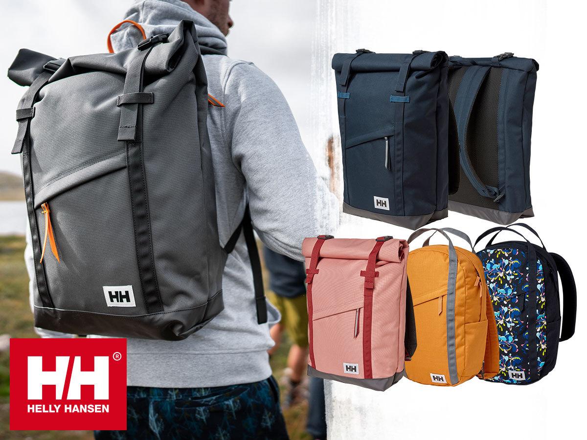 Helly Hansen OSLO, STOCKHOLM, JR, VOYAGER BACKPACK - hátizsákok strapabíró anyagból, a suliba és túrázáshoz