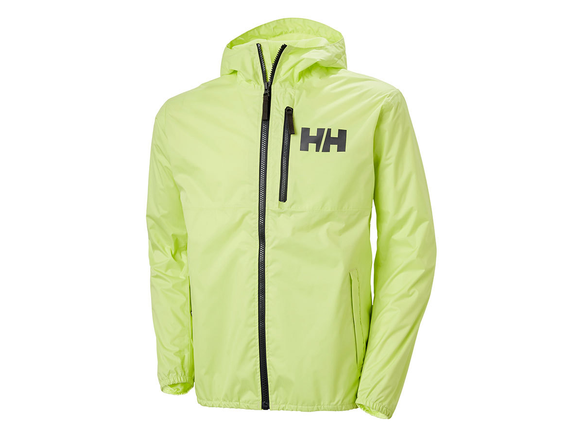 Helly Hansen BELFAST 2 PACKABLE JACKET - SUNNY LIME - L (53424_379-L )