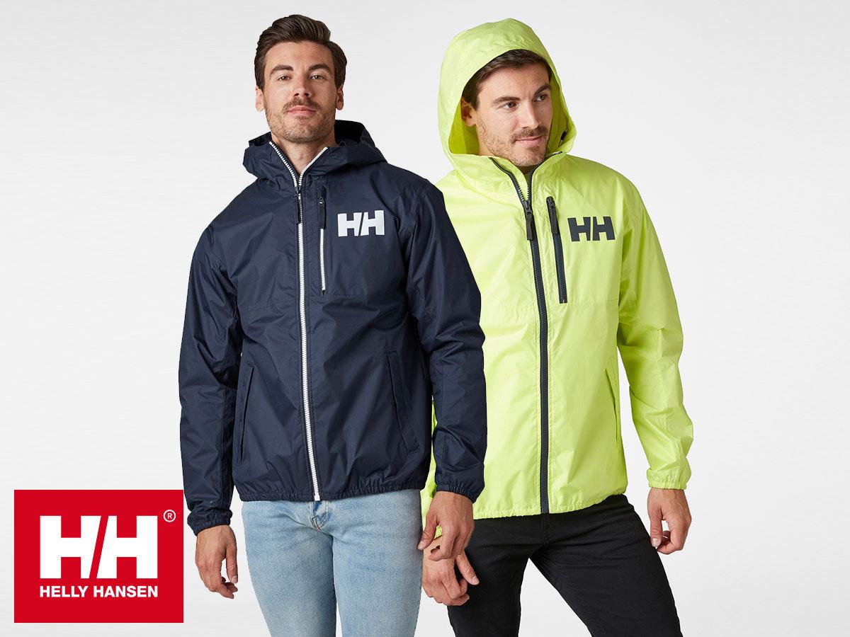 Helly Hansen BELFAST 2 PACKABLE JACKET - kapucnis esőkabát férfiaknak / a saját zsebébe csomagolható (S-XXL)