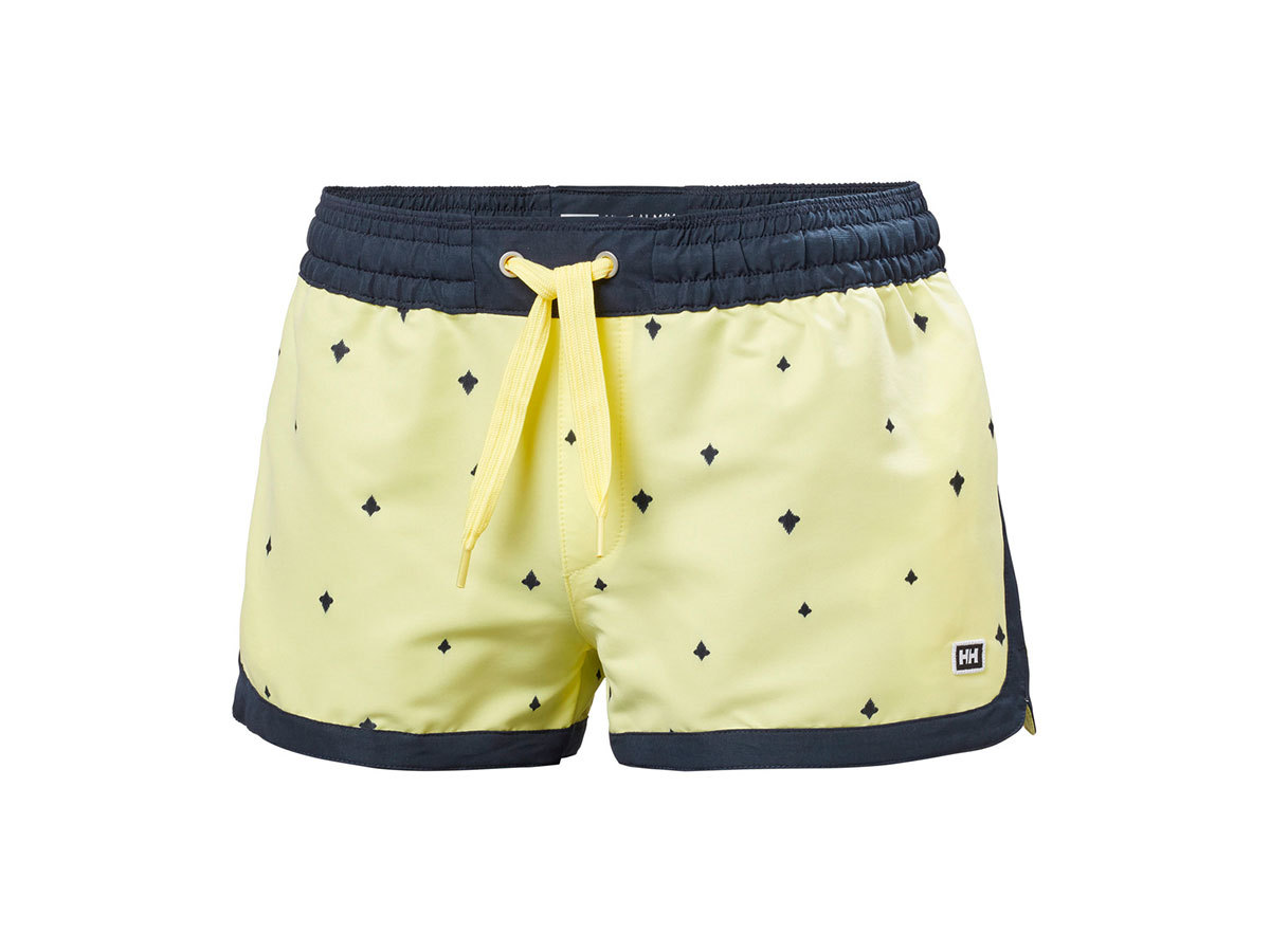 Helly Hansen W SOLEN PRINTED WATERSHORTS 2. - YELLOW PEAR PRINT - L (62971_386-L )
