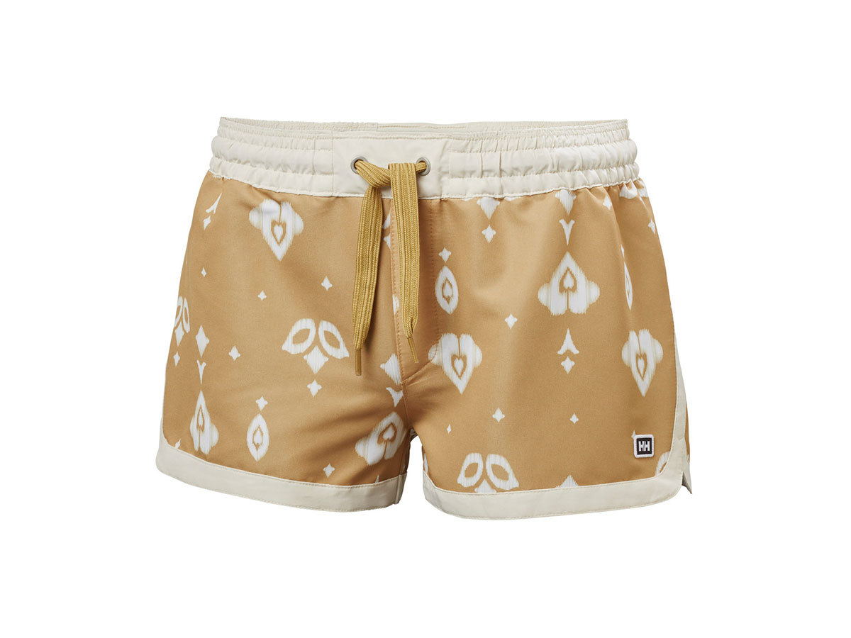 Helly Hansen W SOLEN PRINTED WATERSHORTS 2. - ICED COFFEE PRINT - XL (62971_702-XL )