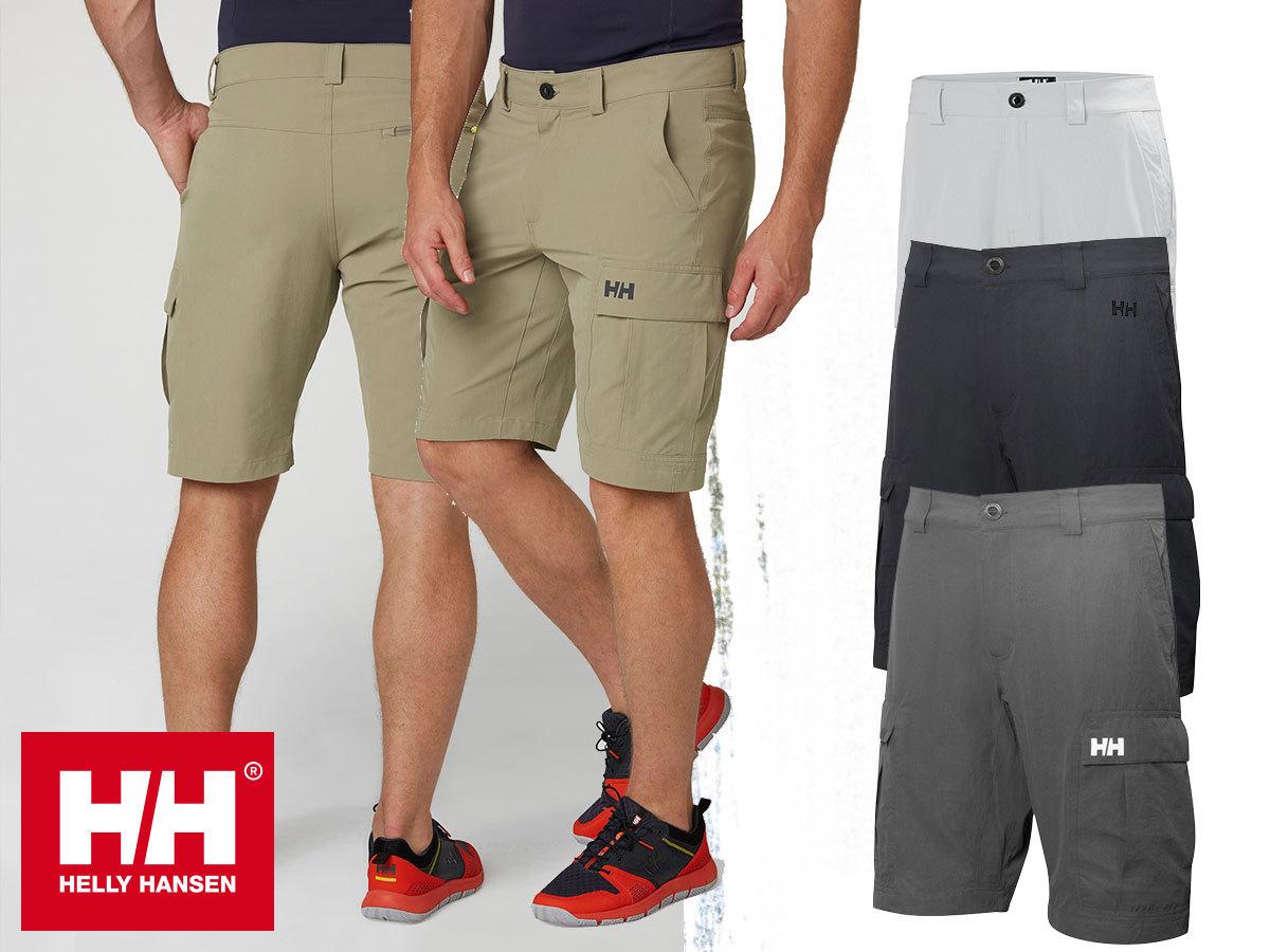 Helly Hansen HH QD CARGO SHORTS II - rövidnadrág férfiaknak gyorsan száradó szövetből