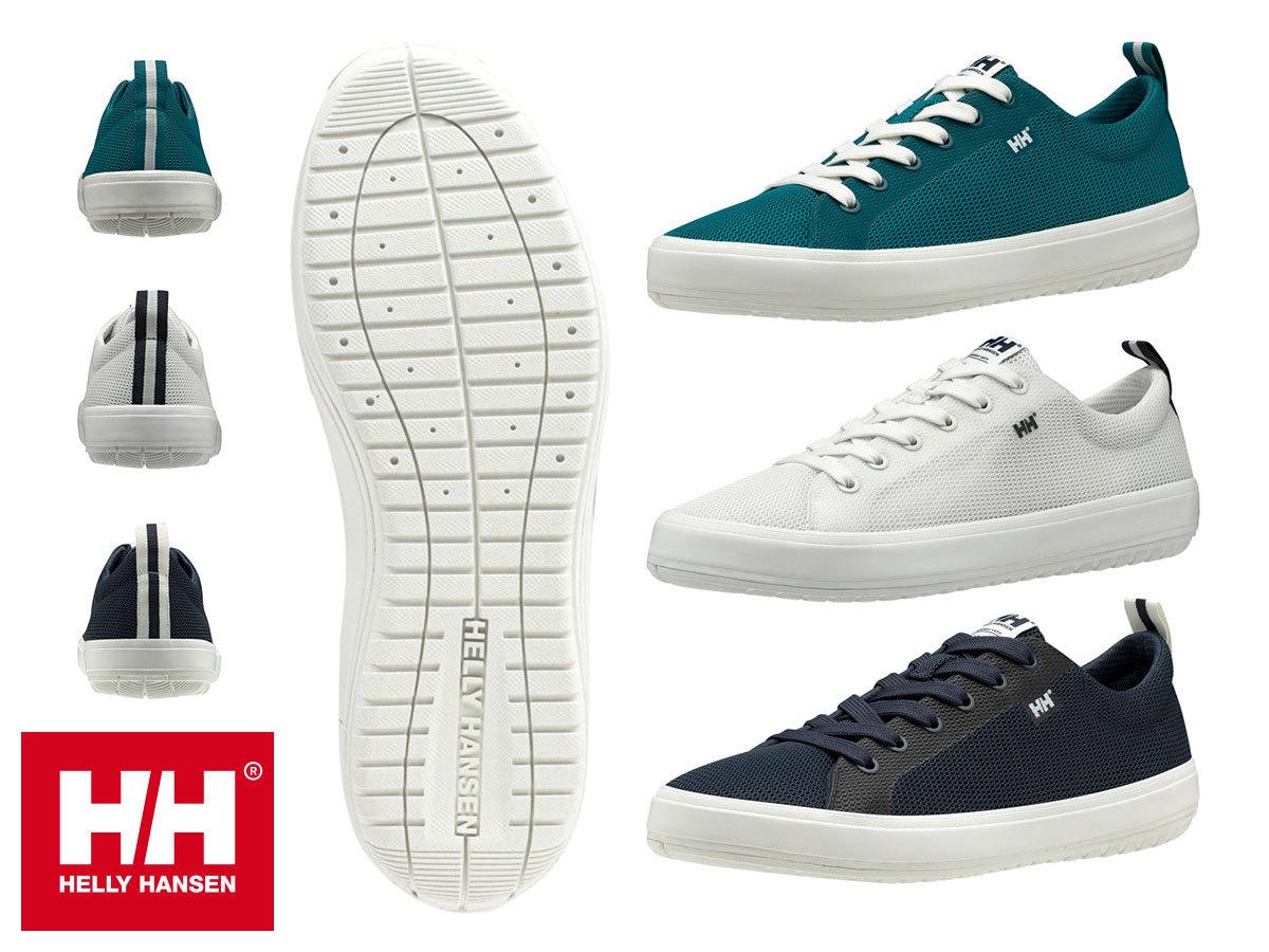 Helly Hansen SCURRY V3 (és SCURRY 2) férfi sportcipő  / vitorlás sneaker, kitűnő tapadással, gyorsan száradó felső résszel (40-48)