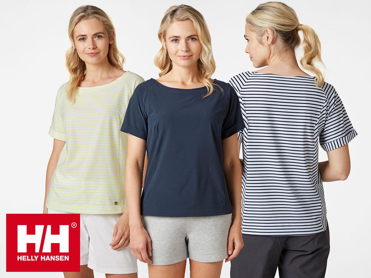 Helly Hansen W THALIA T-SHIRT rövidujjú női felső gyorsan száradó, puha tapintású X-Cool szövetből (XS-XXXL)