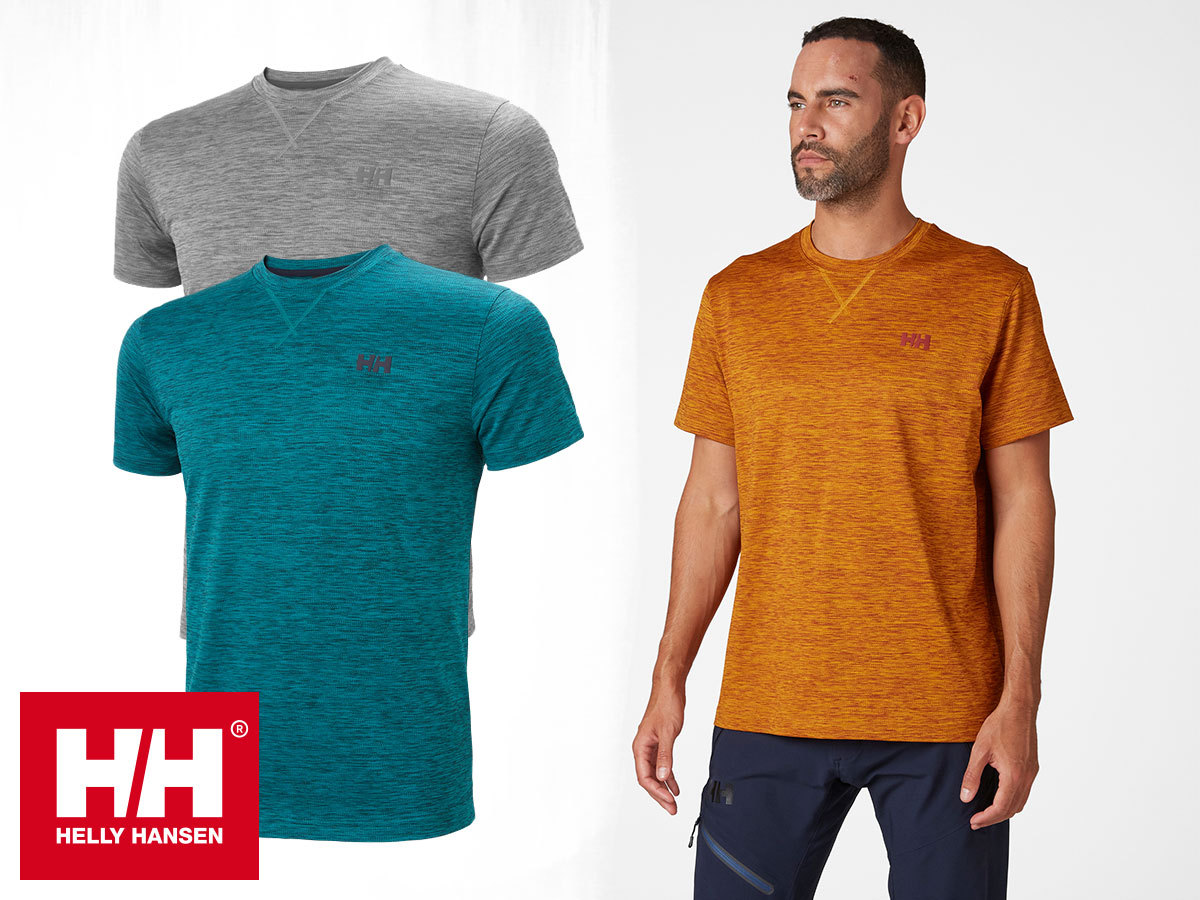Helly Hansen VERGLAS GO TSHIRT férfi technikai póló gyorsan száradó anyagból (S-XXL)