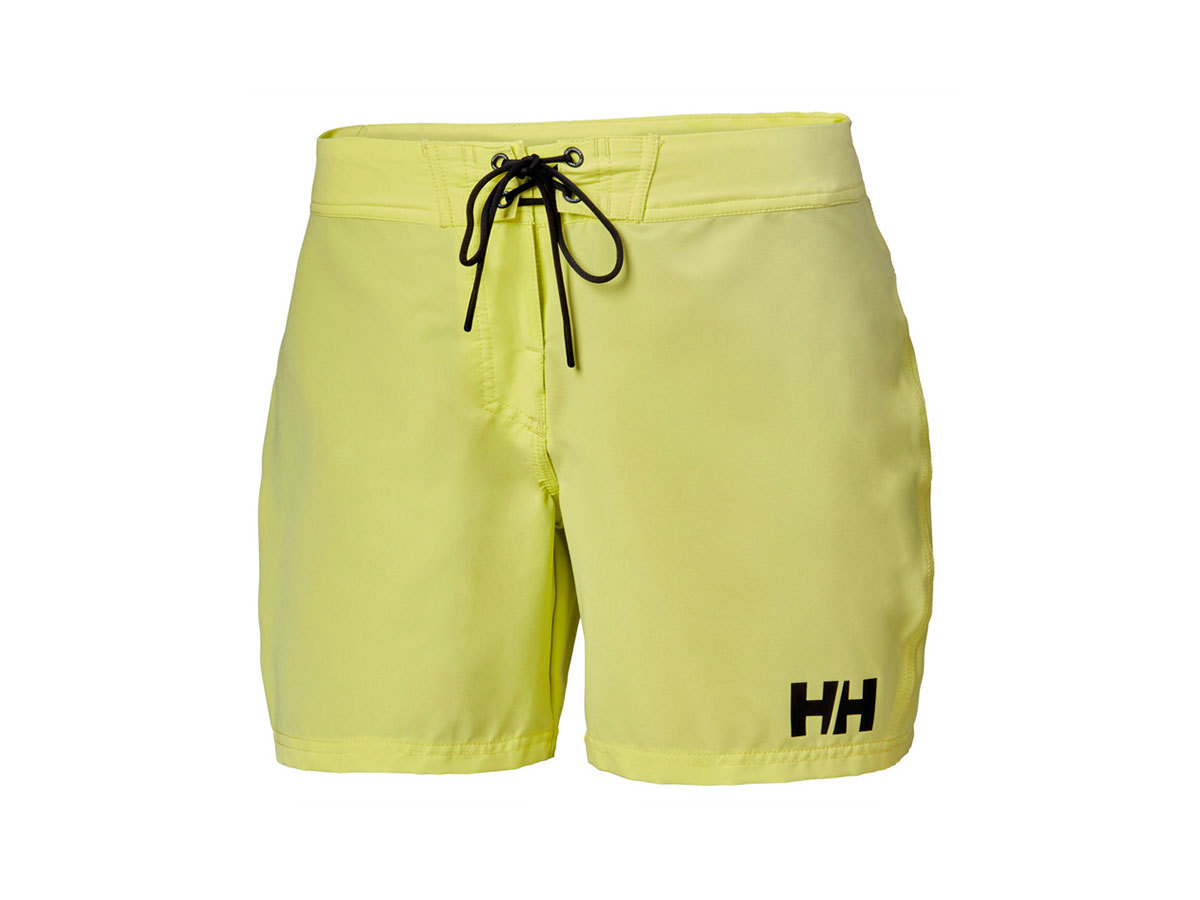 "Helly Hansen W HP BOARD SHORT 6"" - SUNNY LIME - L (34099_379-L )"