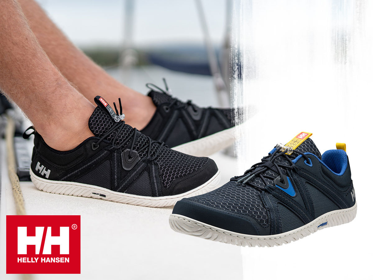 Helly Hansen HP FOIL F1 sokoldalú férfi sportcipő, vitorlás sneaker - anatómiailag formált, kitűnő tapadással