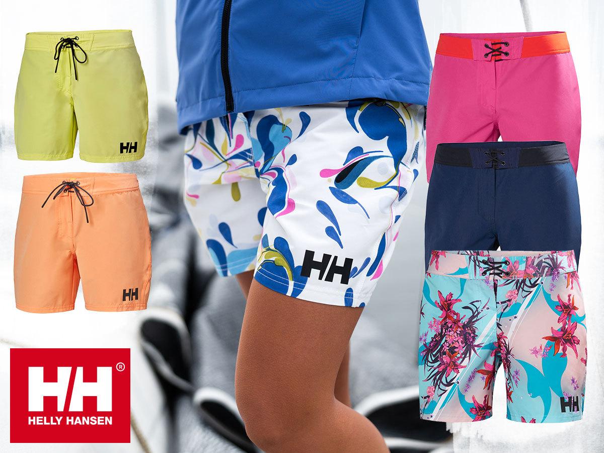 """Helly Hansen W HP BOARD SHORT 6"""" - sokoldalú rövidnadrág, gyorsan száradó anyagból, UV védelemmel"""