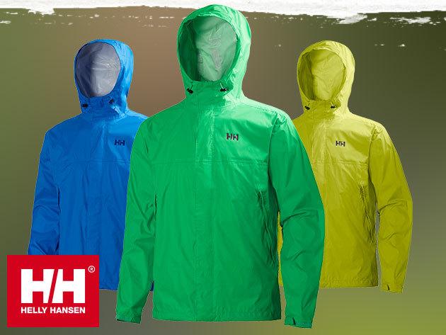 Helly Hansen LOKE JACKET víz- és szélálló, lélegző férfi kabát, mely praktikusan visszacsomagolható a saját zsebébe