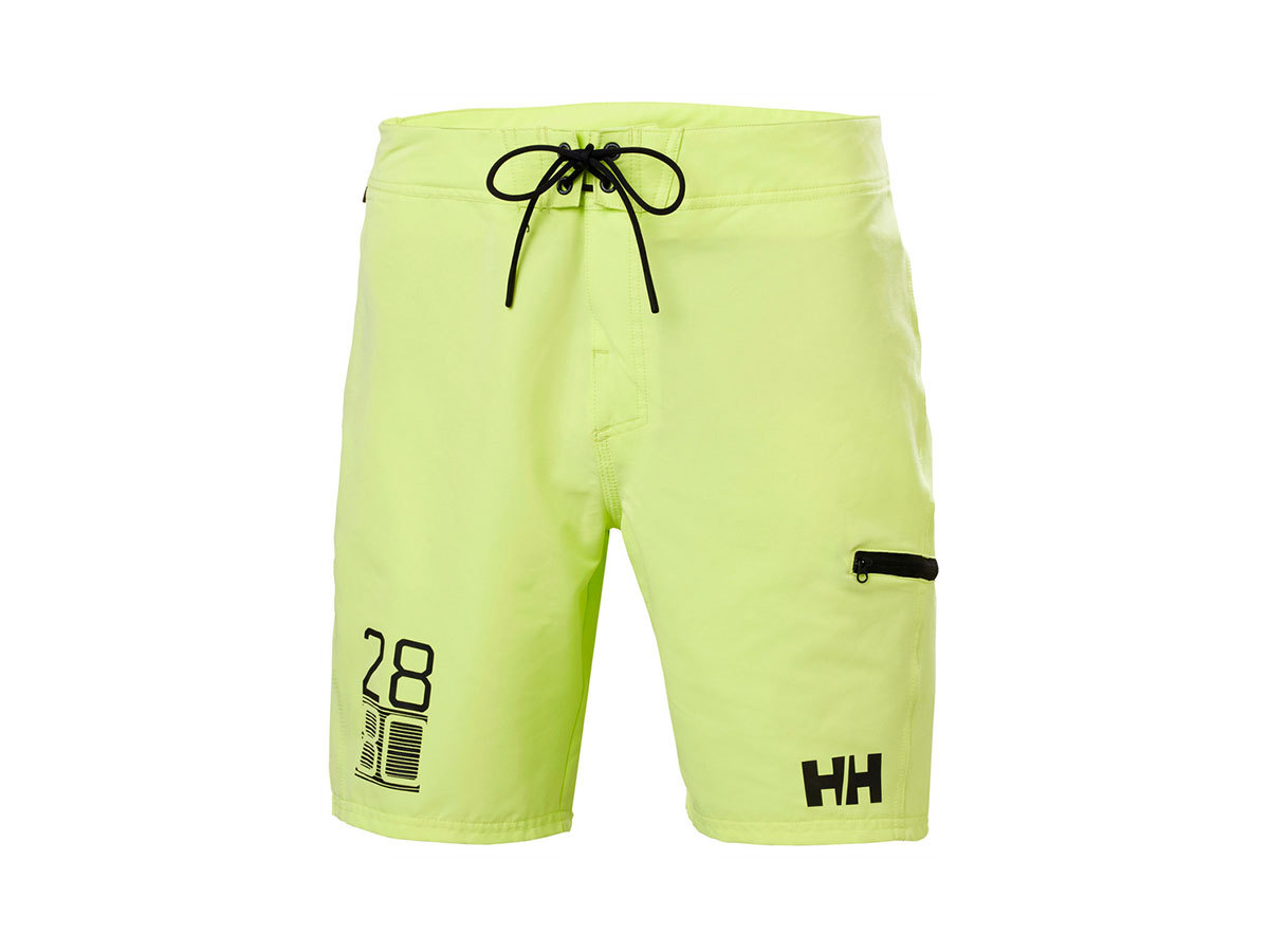 "Helly Hansen HP BOARD SHORTS 9"" - SUNNY LIME - 30 (34058_379-30 )"