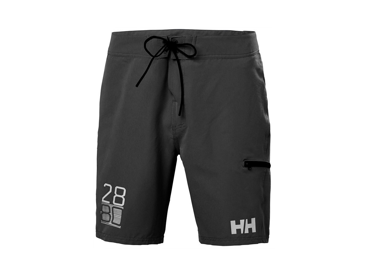 "Helly Hansen HP BOARD SHORTS 9"" - EBONY - 28 (34058_980-28 )"
