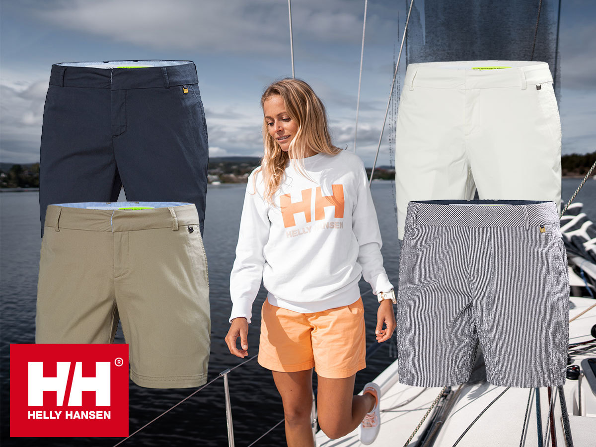 Helly Hansen W CREW SHORTS női rövidnadrág - laza, kényelmes, sportosan elegáns viselet