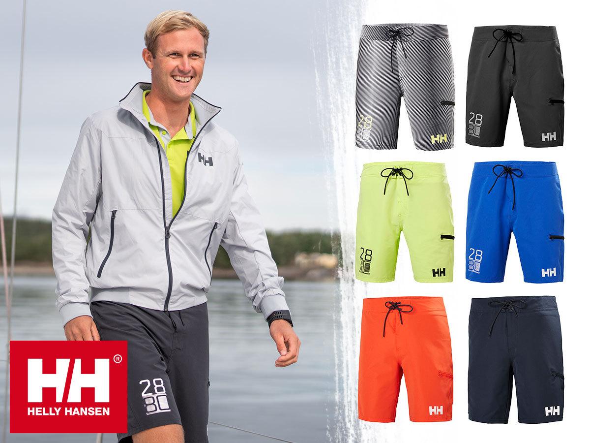 """Helly Hansen HP BOARD SHORTS 9"""" - sokoldalú rövidnadrág / úszónadrág, gyorsan száradó anyagból, UV védelemmel"""