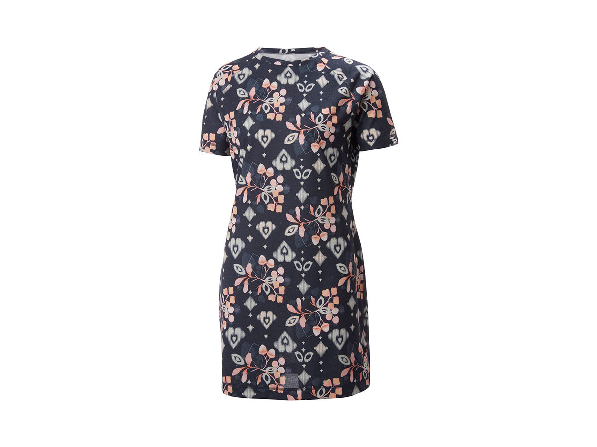 Helly Hansen W LIA DRESS - NAVY PRINT - L (62972_597-L )