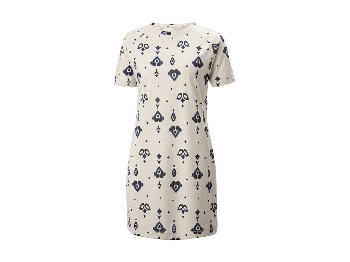 Helly Hansen W LIA DRESS - CREAM PRINT - XS (62972_034-XS )