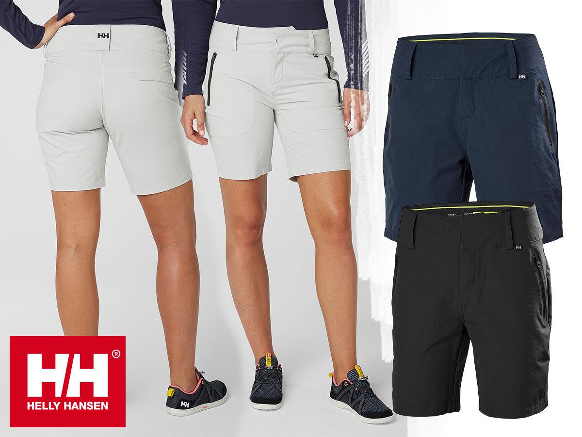 Helly Hansen W CREWLINE SHORTS női rövidnadrágok - csinos, kényelmes, sportosan nőies viselet