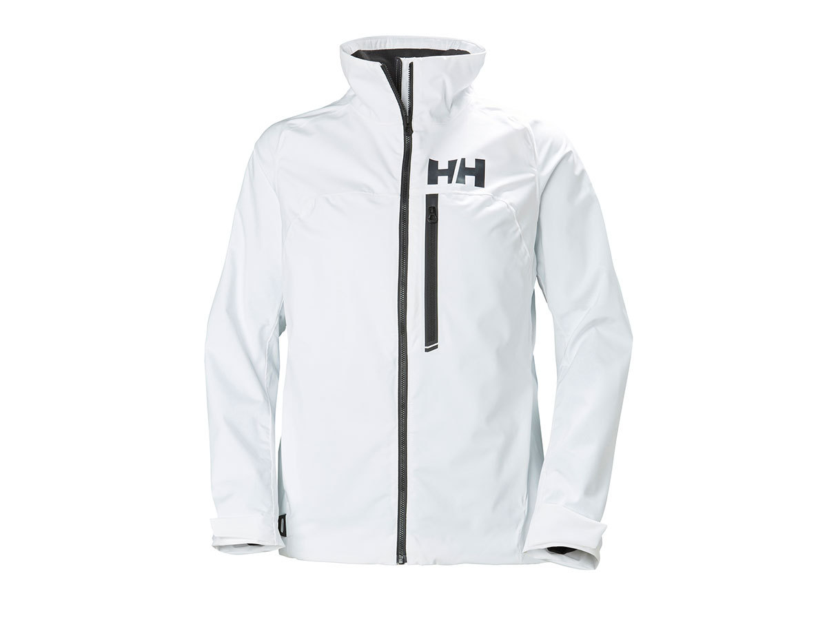 Helly Hansen W HP RACING MIDLAYER JACKET - WHITE - S (34070_001-S )