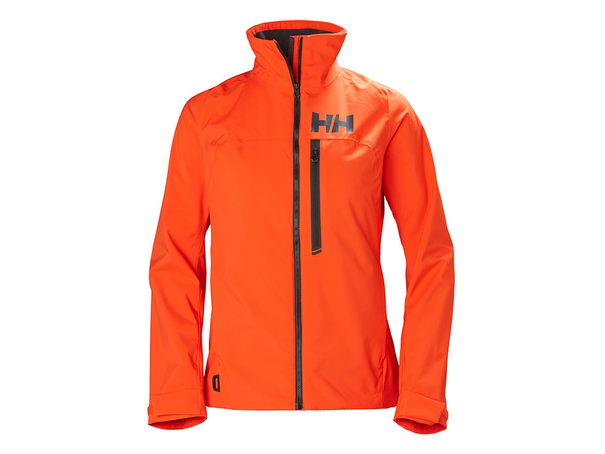 Helly Hansen W HP RACING MIDLAYER JACKET - CHERRY TOMATO - L (34070_147-L )