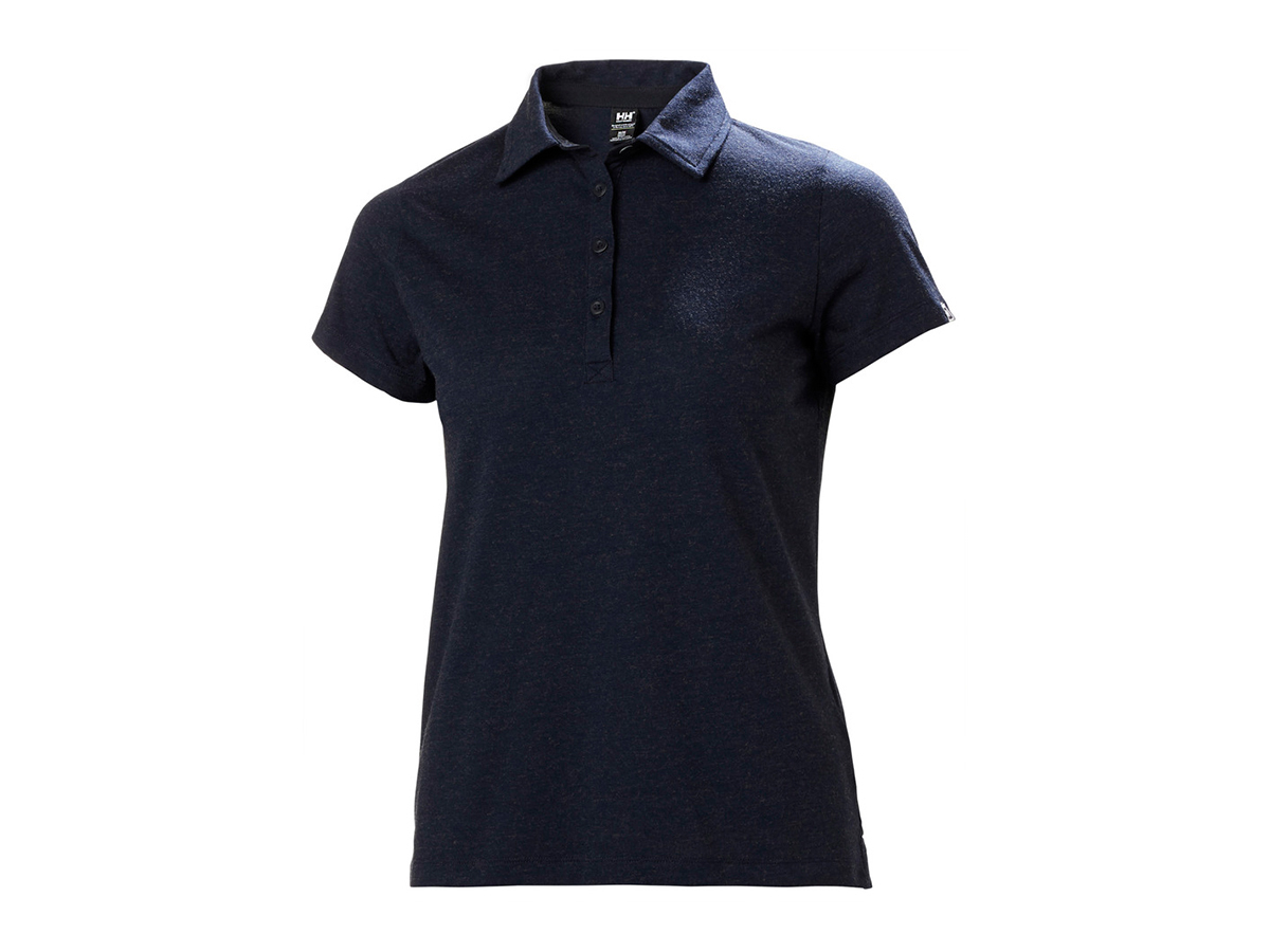 Helly Hansen W SIREN POLO - NAVY - L (33999_596-L )
