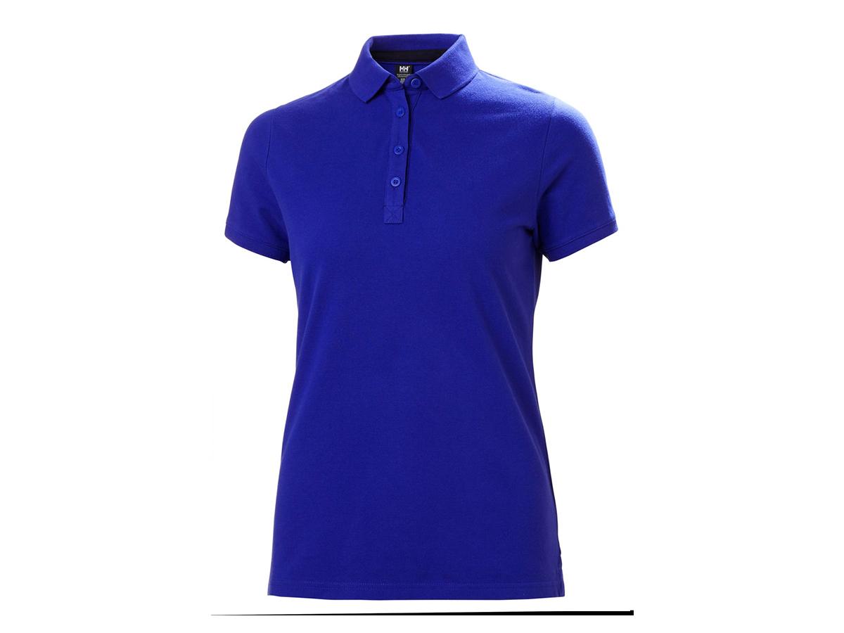 Helly Hansen W CREW PIQUE 2 POLO - ROYAL BLUE - M (53055_514-M )