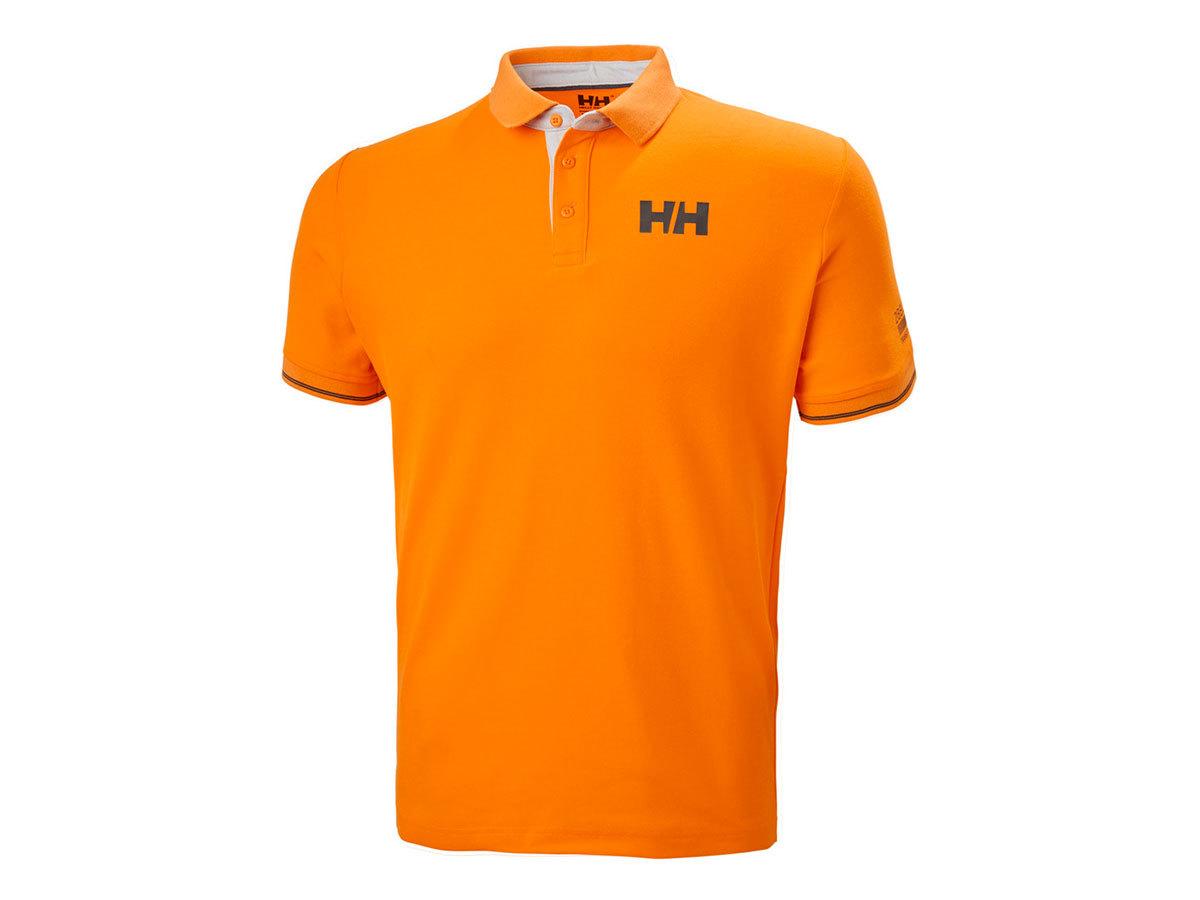 Helly Hansen HP SHORE POLO - PAPAYA - L (34051_322-L )