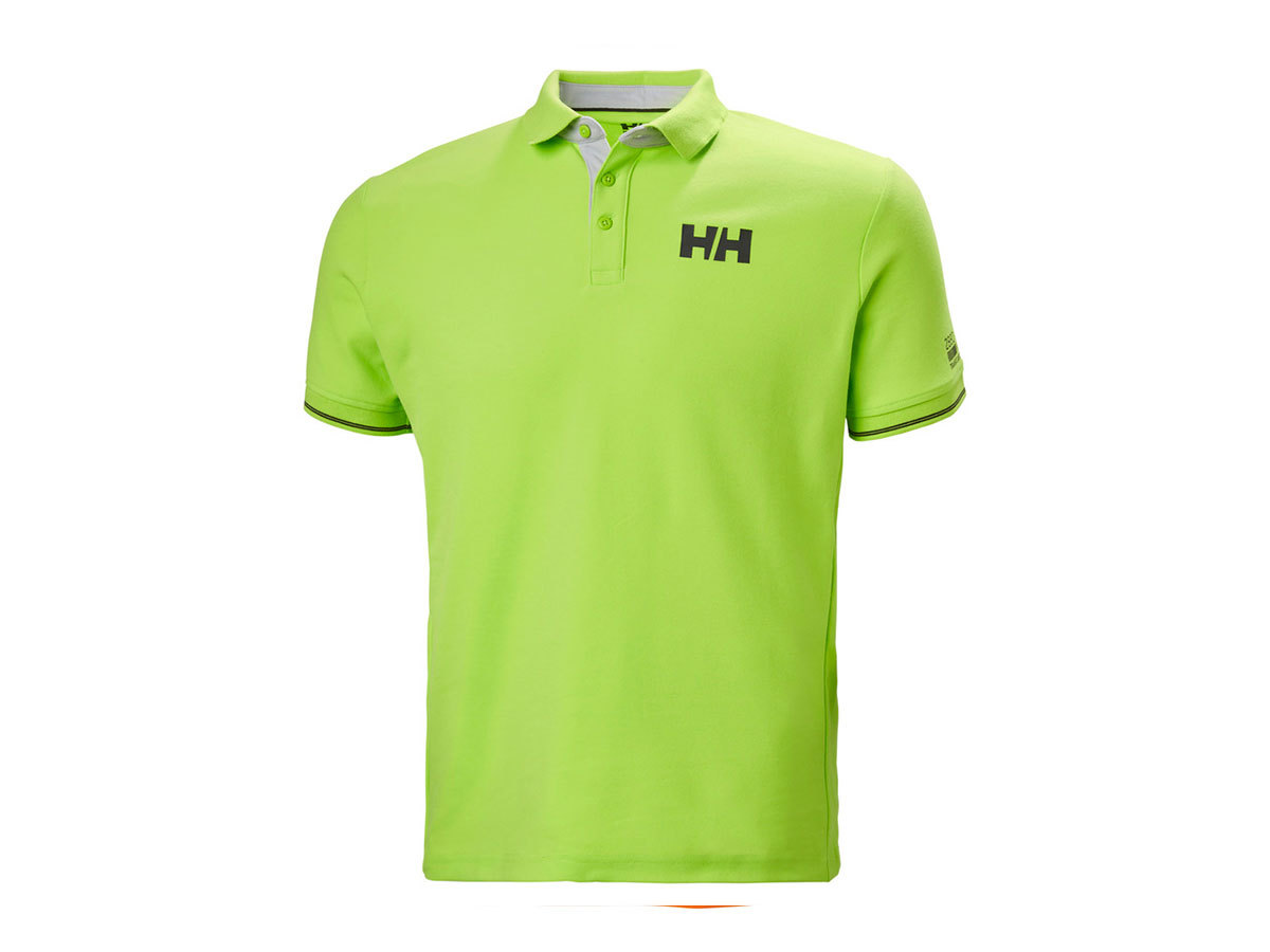 Helly Hansen HP SHORE POLO - AZID LIME - L (34051_402-L )