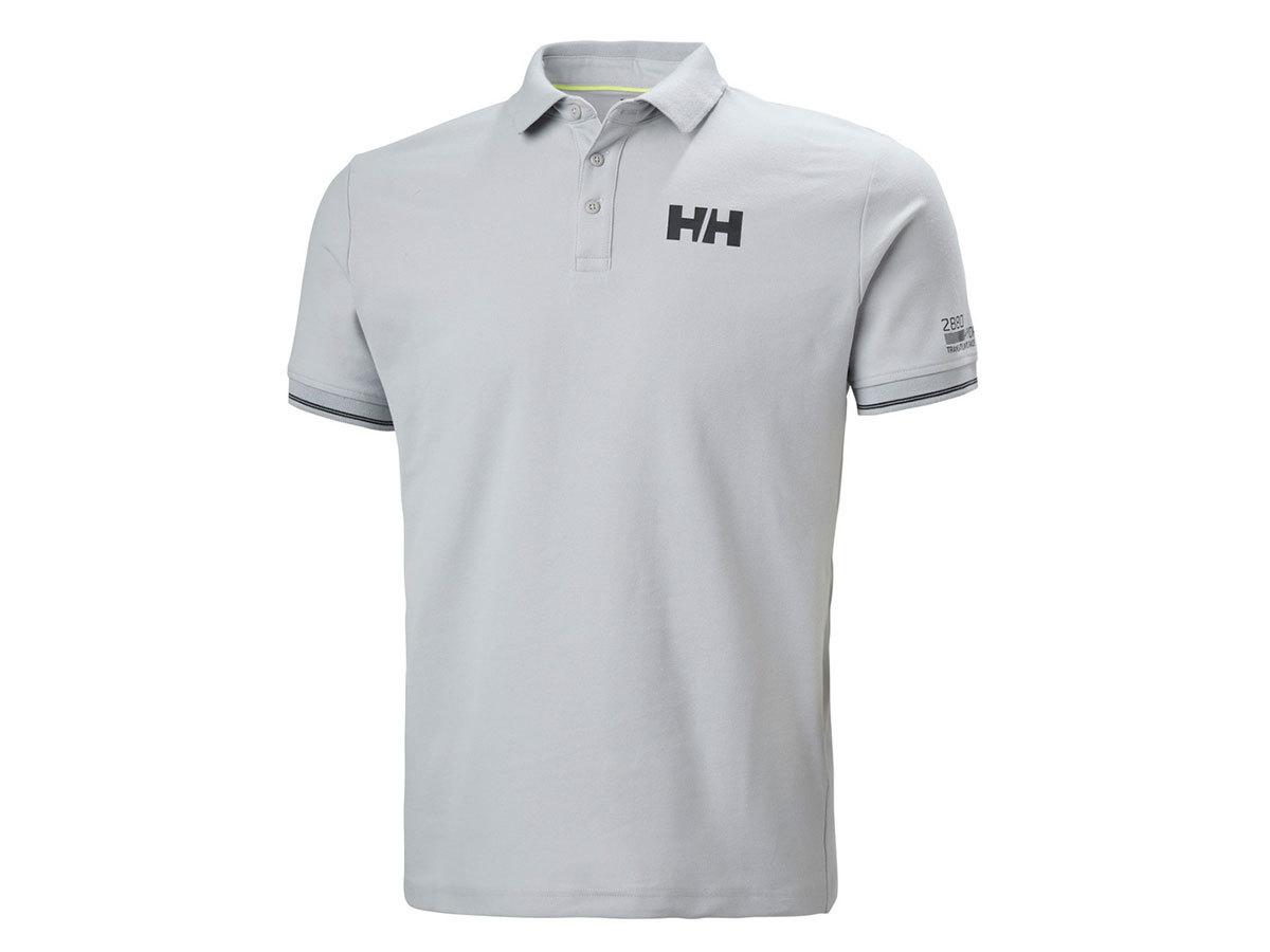 Helly Hansen HP SHORE POLO - GREY FOG - XXL (34051_853-2XL )