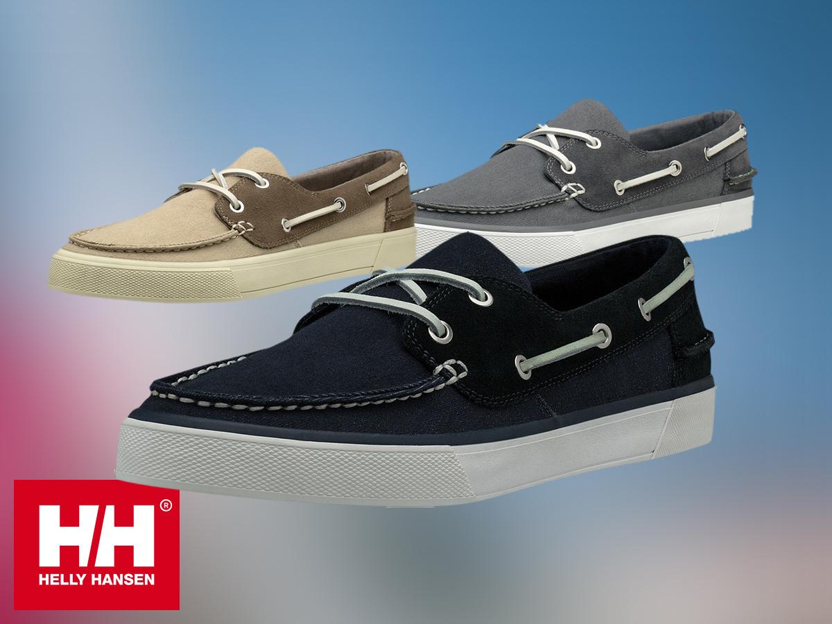 Helly Hansen SANDHAVEN DECKSHOE férfi vitorlás cipő kényelmes talpbetéttel, kitűnő tapadással