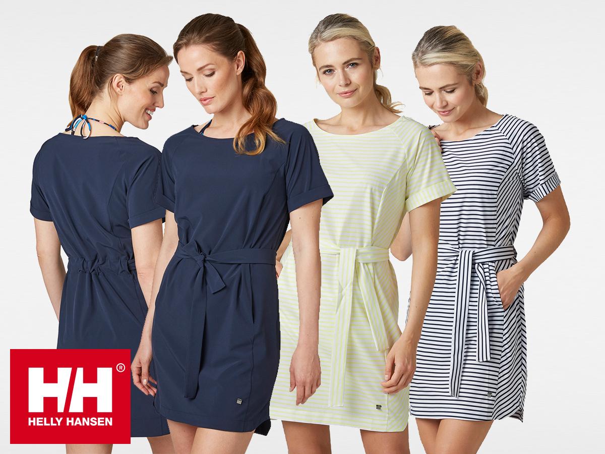 Helly Hansen W THALIA DRESS - könnyű nyári ruha nőknek - rugalmas, kényelmes, csinos, X-Cool gyorsan száradó szövetből