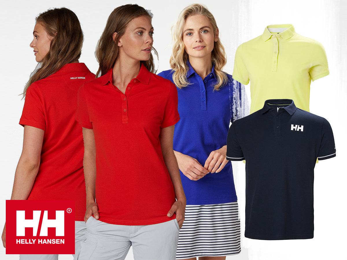 Helly Hansen W CREW PIQUE 2 POLO - galléros pamut piké póló stílusos nőknek. Egyes pólók AZONNAL ÁTVEHETŐEK!