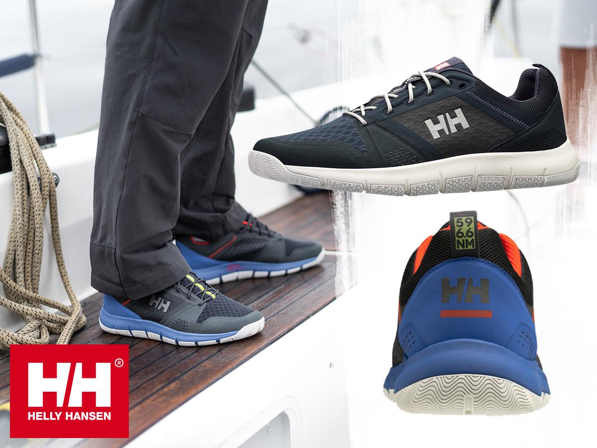 Helly Hansen SKAGEN F1 OFFSHORE - stílusos vitorlás lábbeli, jól szellőző felsőrésszel és hajlékony, stabil gumitalppal