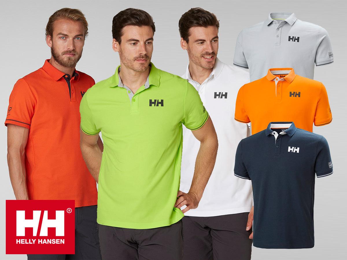 Helly Hansen HP SHORE POLO - sportosan elegáns piké póló technikai anyagból (S-XXL)