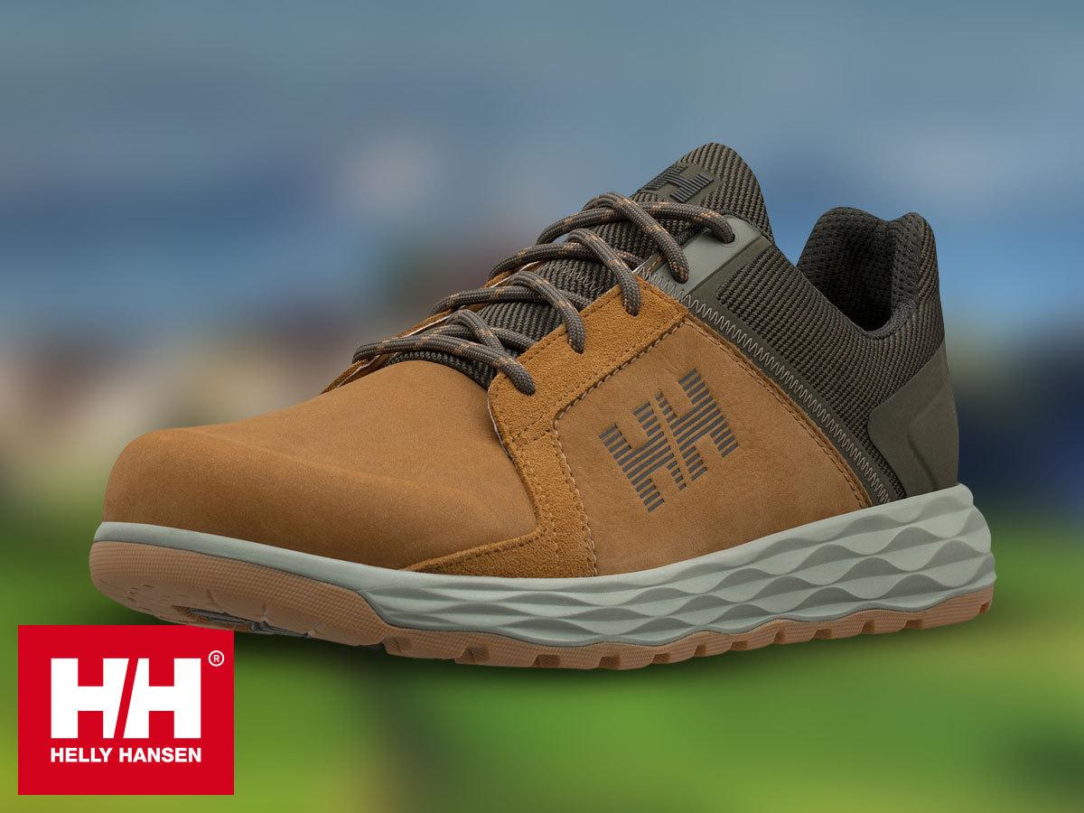 Helly Hansen GAMBIER LC - stílusos átmeneti lábbeli férfiaknak vízálló bőr felsőrésszel és kényelmes HellyGrip gumitalppal