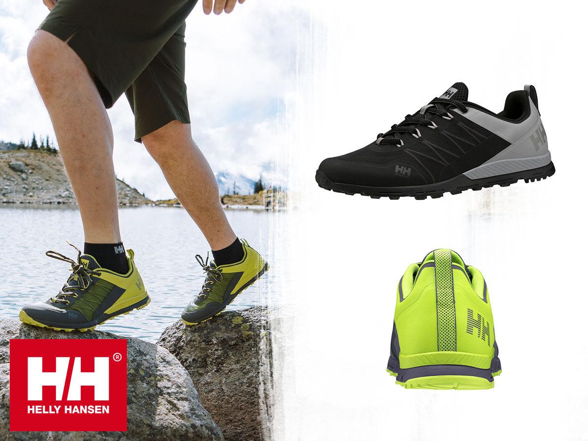 Helly Hansen VARDE TRAIL terepfutó cipő férfiaknak, kényelmes EVA talpbetéttel, hidrofób, lélegző felsőrésszel (40-48)
