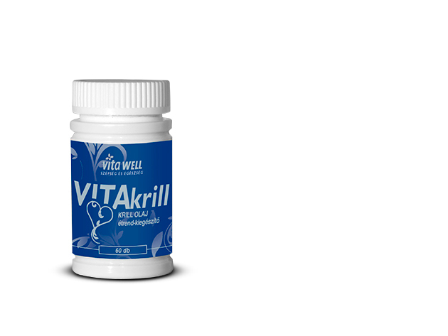 VITAKrill krill olaj zselékapszula 60 db