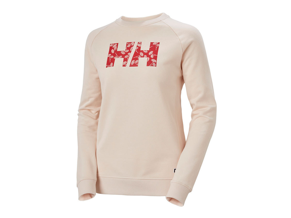 Helly Hansen W F2F COTTON SWEATER - LIGHT ROSÉ - XL (62935_086-XL )