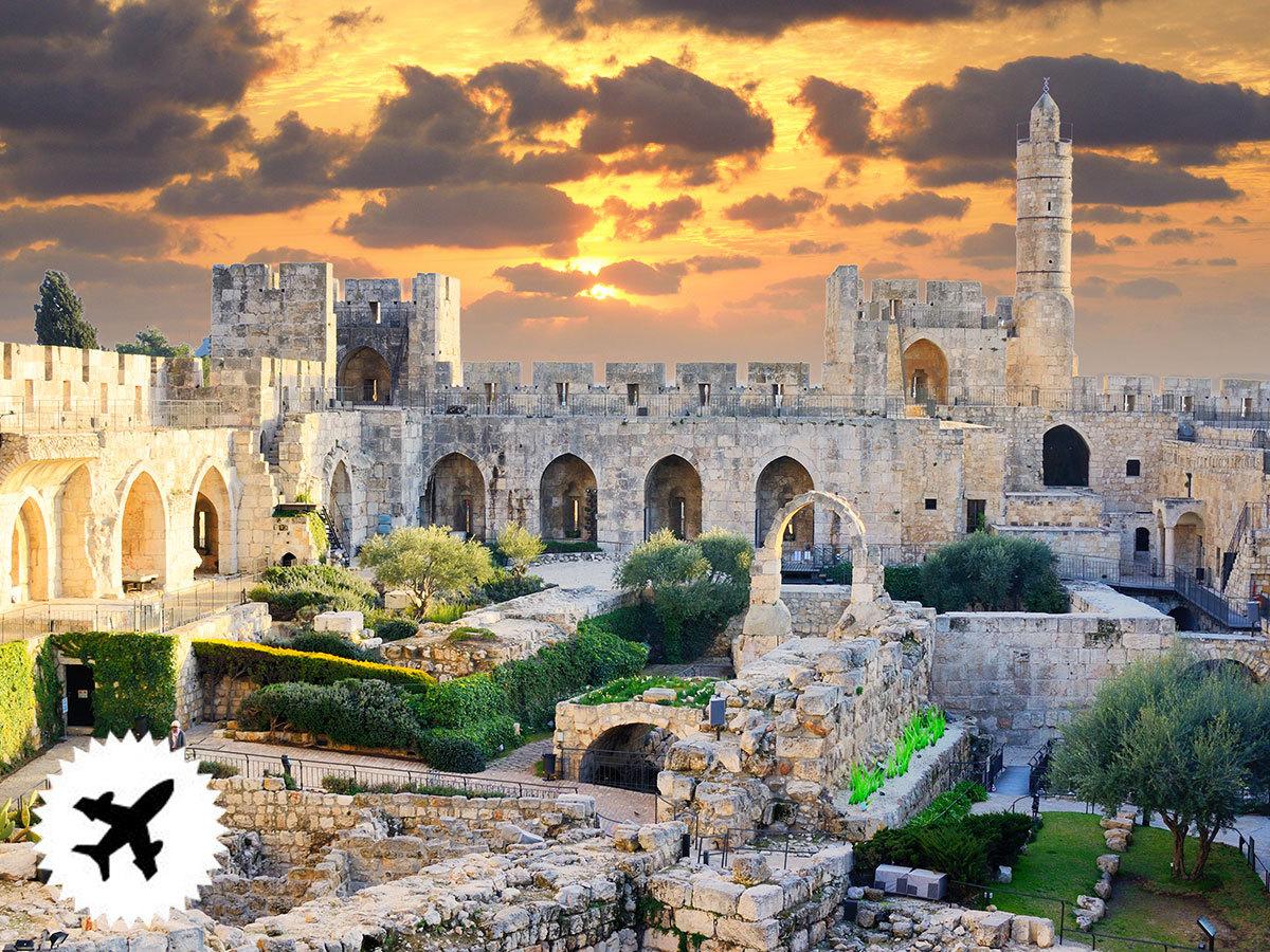 ADVENT JERUZSÁLEMBEN, Holt-tengeri és betlehemi kirándulási lehetőségekkel / fő (repülőjegy illetékekkel + 60.000 Ft)