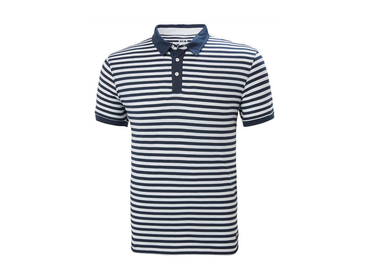 Helly Hansen FJORD POLO - NAVY STRIPE - S (53024_594-S )
