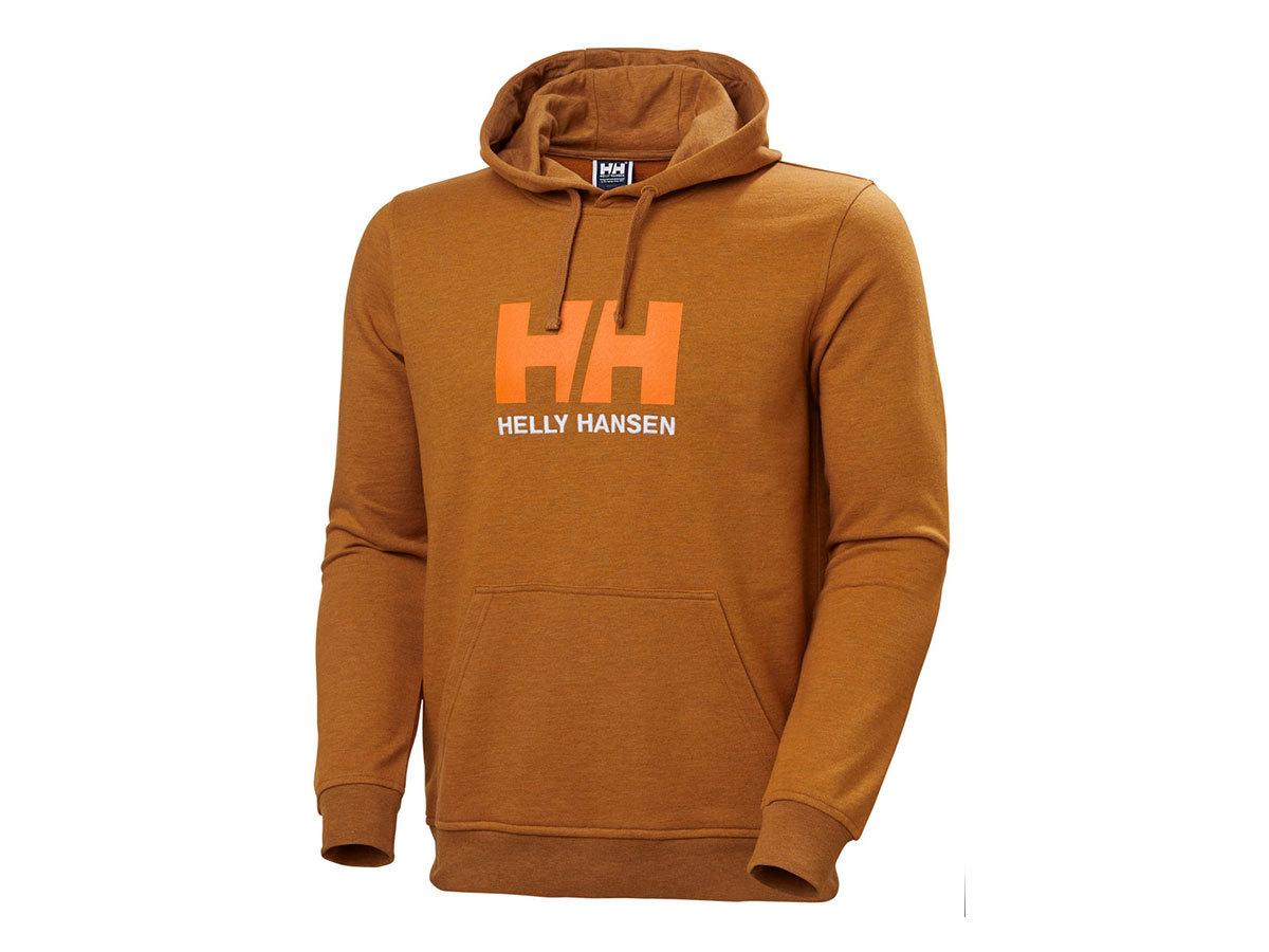 Helly Hansen HH LOGO HOODIE - MARMALADE - XL (33977_283-XL )