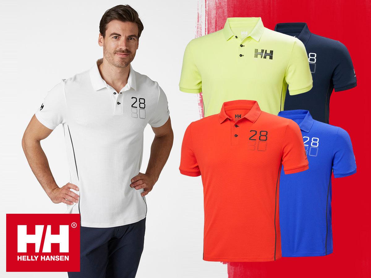 Helly Hansen HP RACING POLO - elegáns technikai póló, gyorsan száradó anyagból / egyes termékek AZONNAL ÁTVEHETŐEK