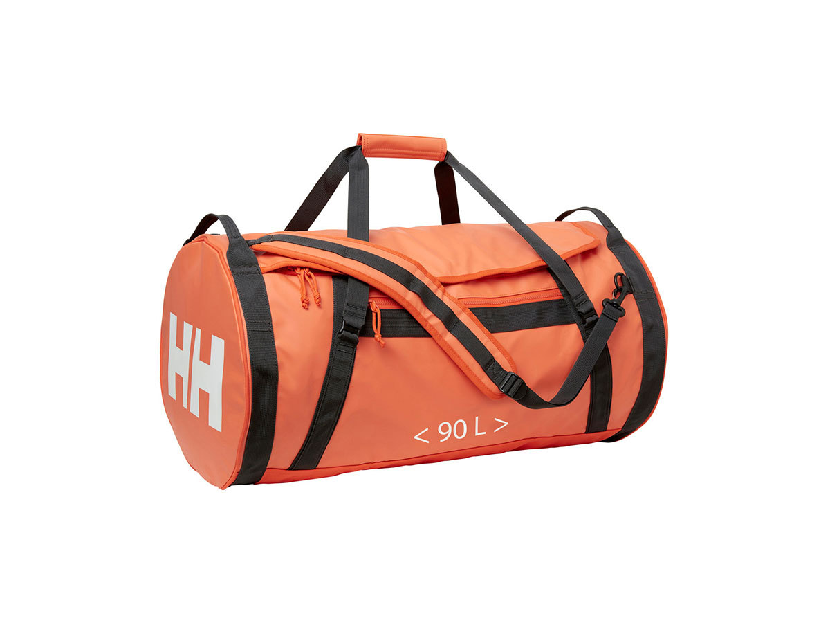Helly Hansen HH DUFFEL BAG 2 90L - CHERRY TOMATO / EBONY / O - STD (68003_147-STD )