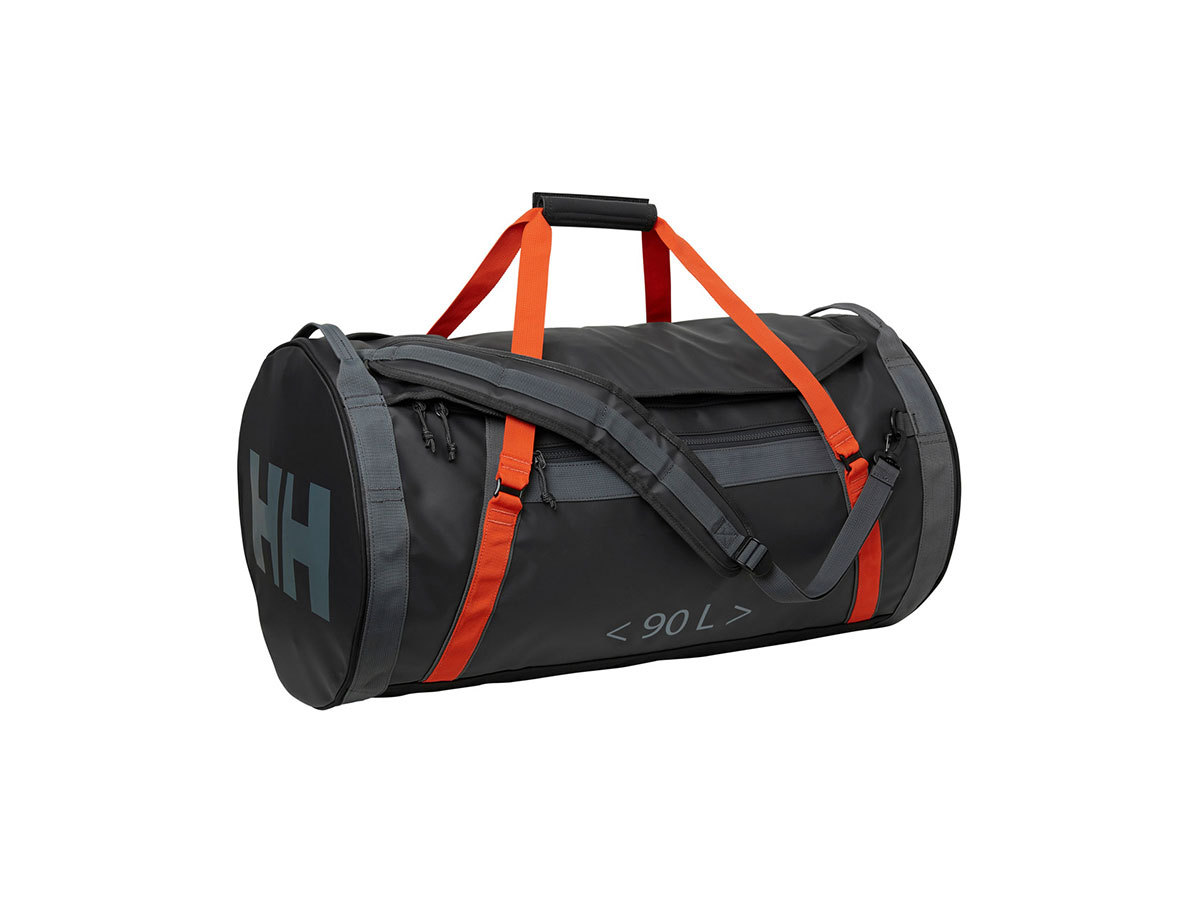 Helly Hansen HH DUFFEL BAG 2 90L - EBONY  / CHERRY TOMATO / - STD (68003_984-STD )