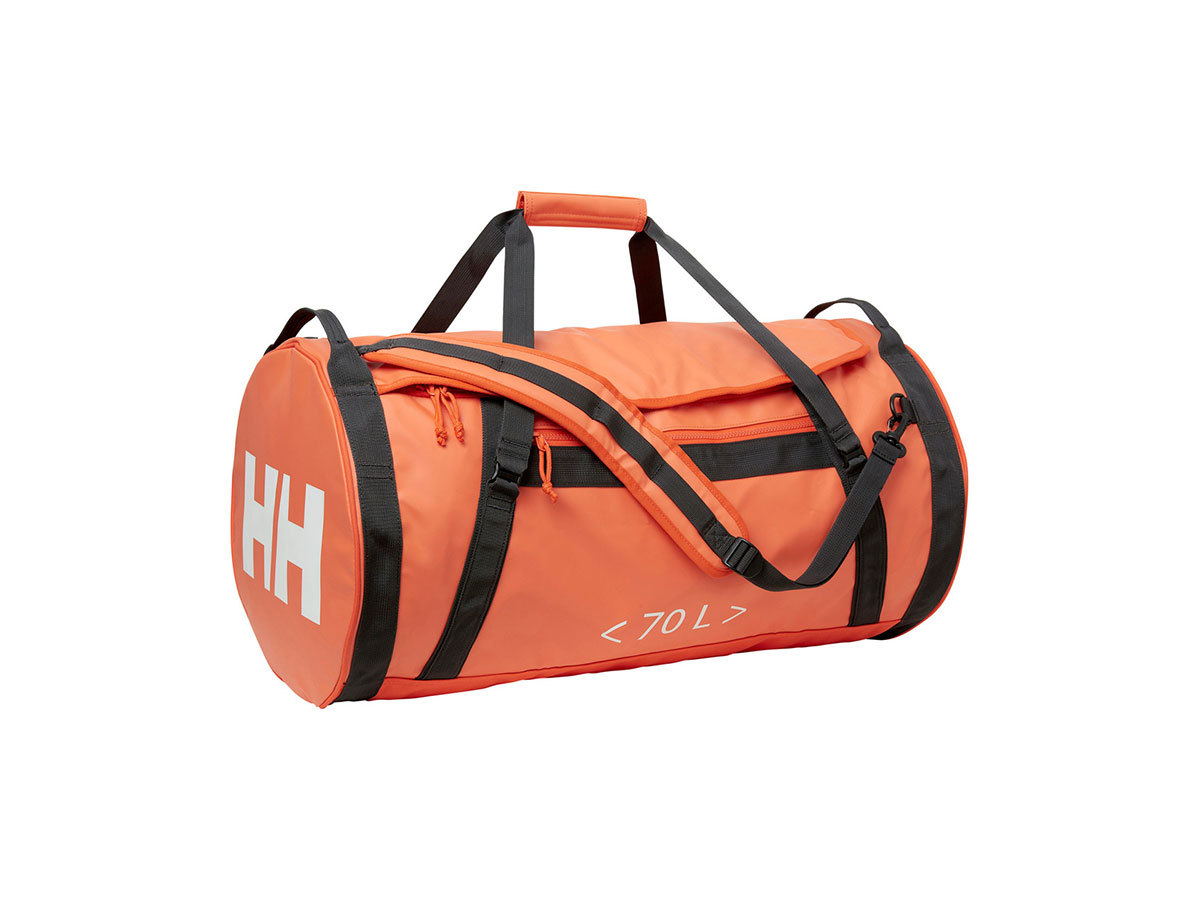 Helly Hansen HH DUFFEL BAG 2 70L - CHERRY TOMATO / EBONY / O - STD (68004_147-STD )