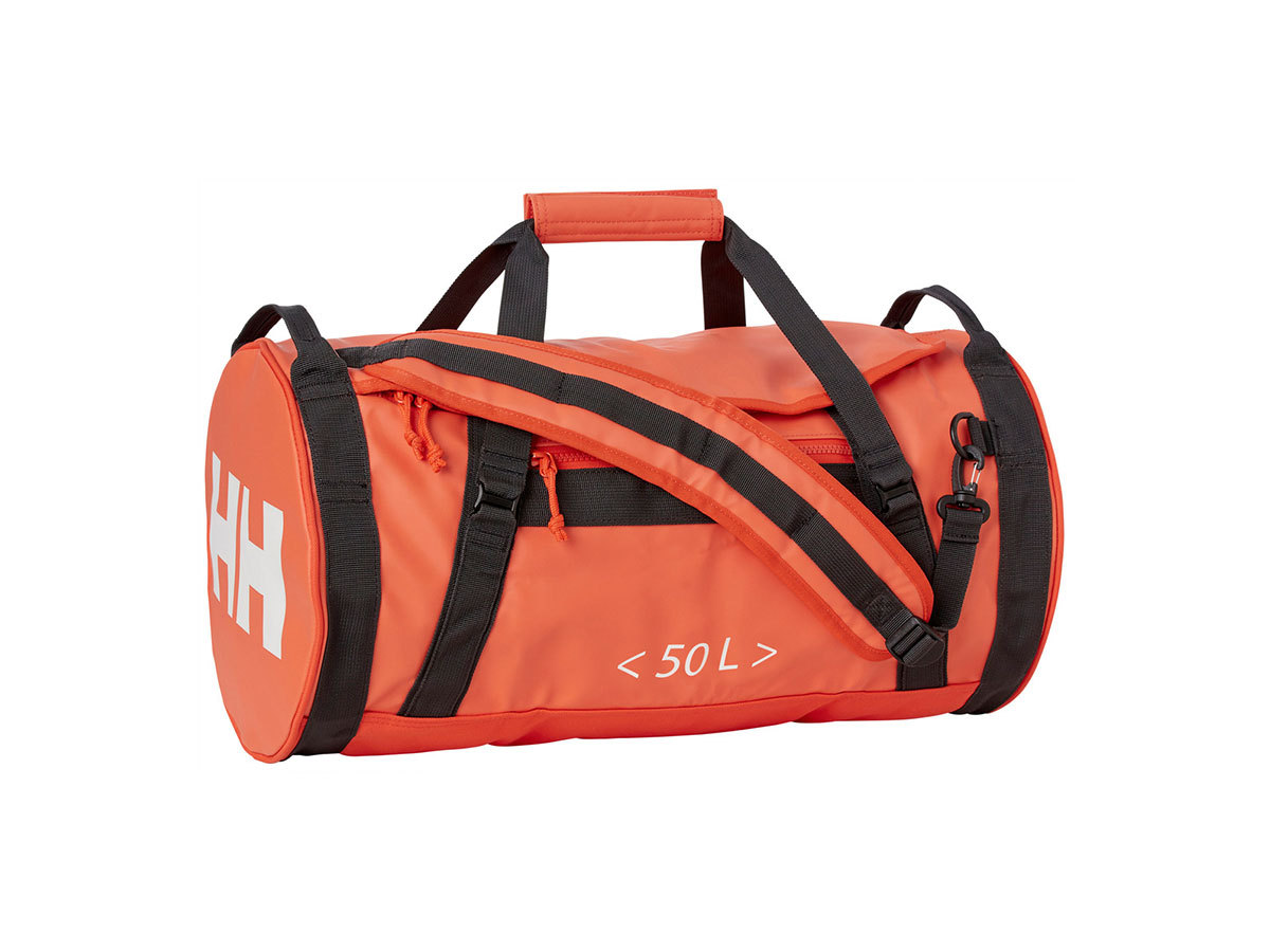 Helly Hansen HH DUFFEL BAG 2 50L - CHERRY TOMATO / EBONY / O - STD (68005_147-STD )