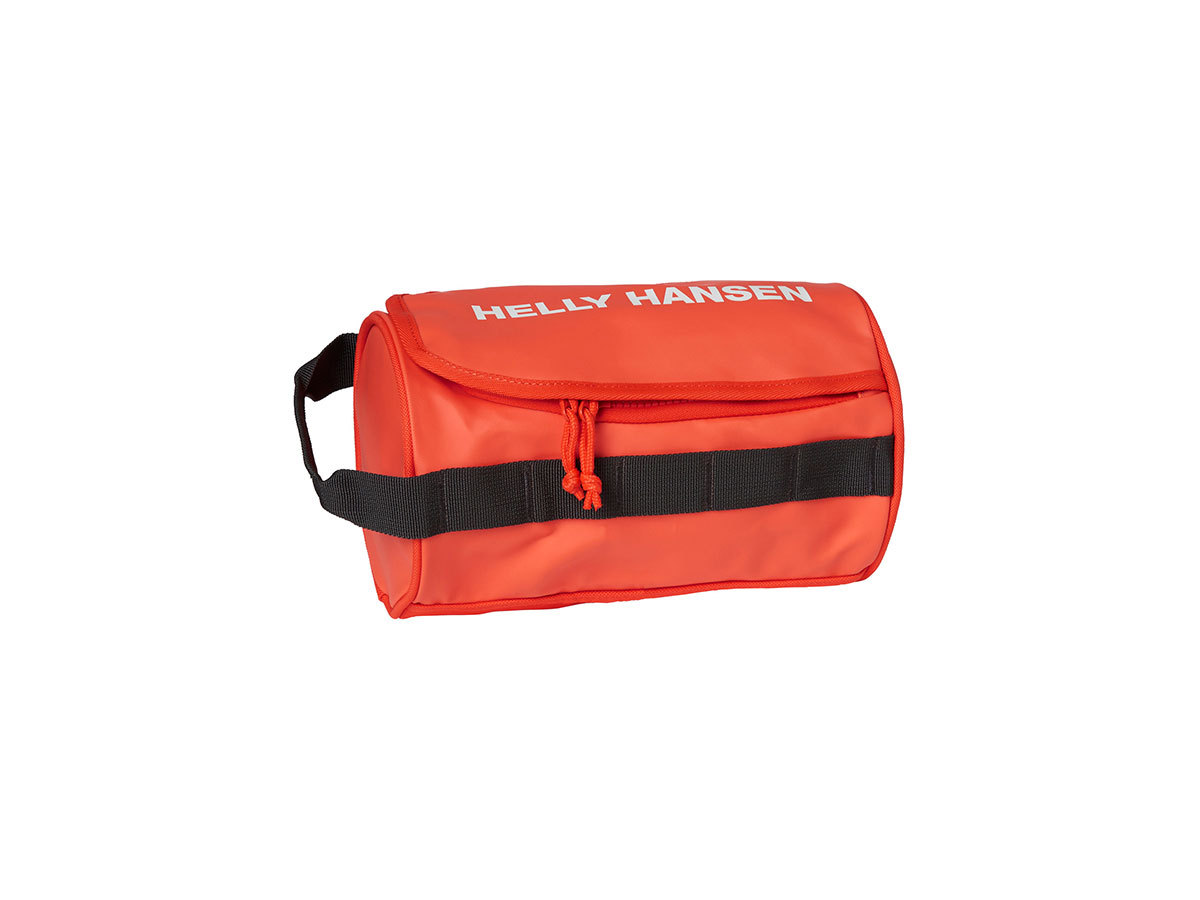 Helly Hansen HH WASH BAG 2 - CHERRY TOMATO / EBONY / O - STD (68007_147-STD )