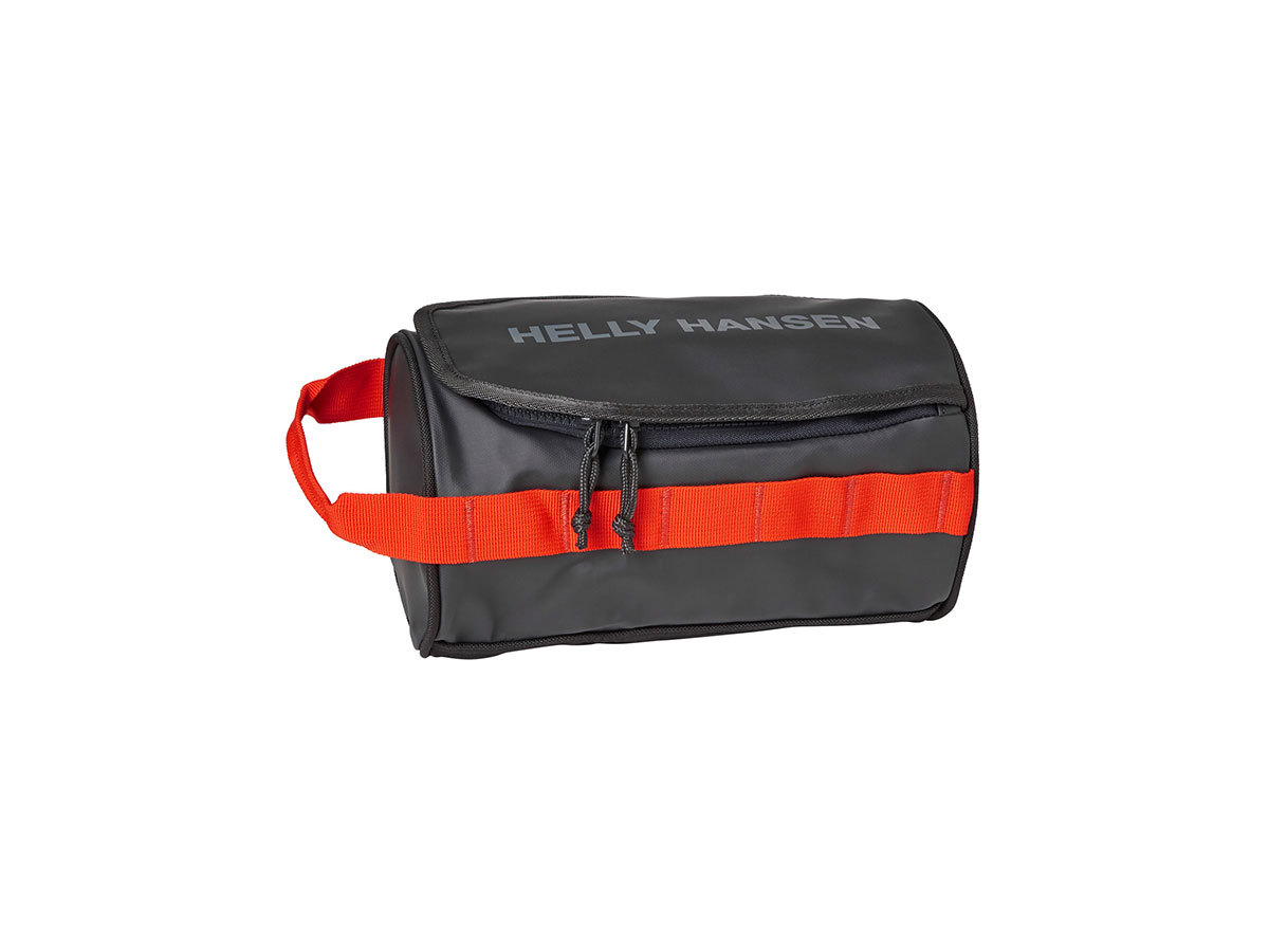 Helly Hansen HH WASH BAG 2 - EBONY  / CHERRY TOMATO / - STD (68007_984-STD )